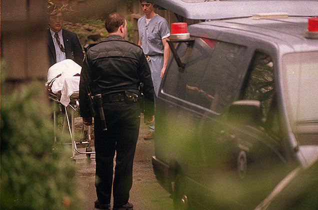 Cobain Death Driveway